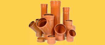 Труби ПВХ для зовнішньої каналізації